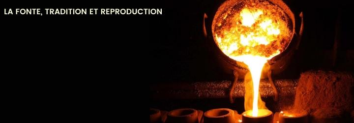 Reproduction et Fabrication sur mesure pièces en fonte et en fer forgé